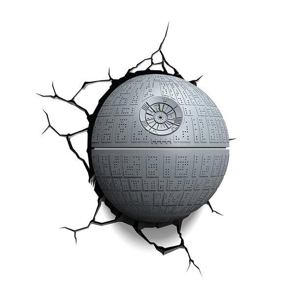 3D EP.7 Star Wars Death Star Deco 4-Light Night Light by 3D Light FX