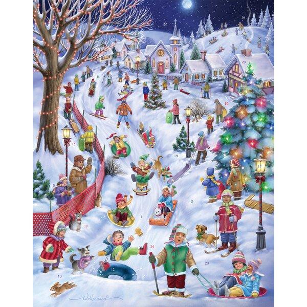 Sledding Snow Day Advent Calendar by The Holiday Aisle