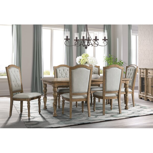 Elena 7 Piece Dining Set by Ophelia & Co.