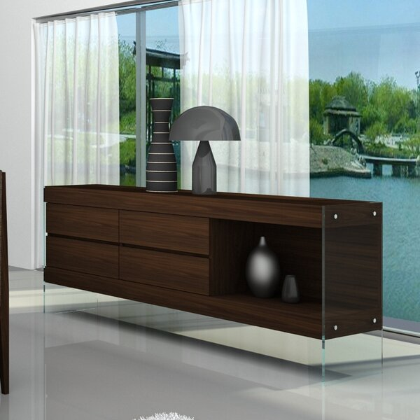 Perrone Buffet Table by Brayden Studio