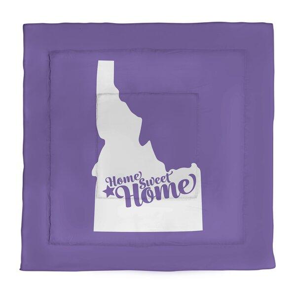 Boise Home Sweet Single Reversible Comforter