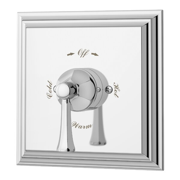 Canterbury Tub and Shower Valve with Metal Lever Handle by Symmons