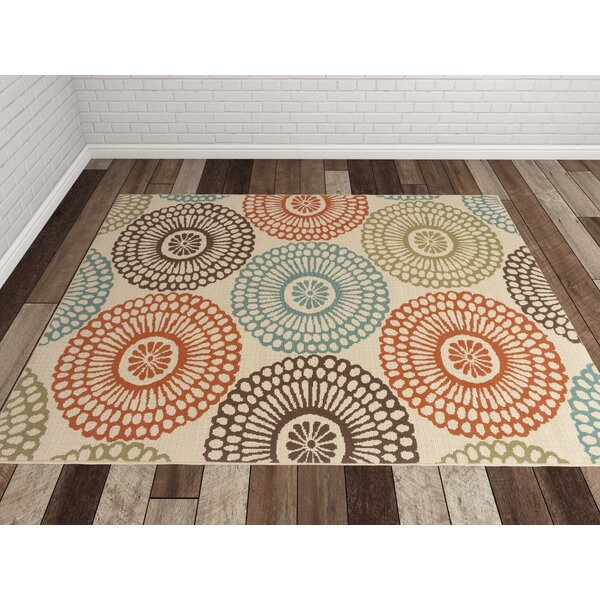 Douane Orange Brown Area Rug Amp Reviews Allmodern