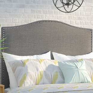 Look for Zoe Upholstered Panel Headboard by Mercury Row