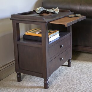 Tiberius End Table with Storage