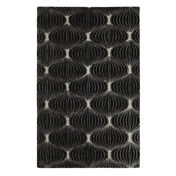 Allure Allurerary Black/Silver Area Rug by Dynamic Rugs