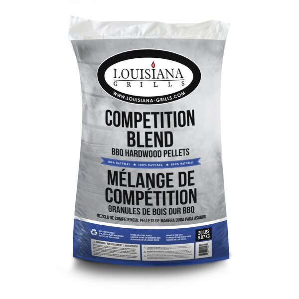 All Natural Hardwood Pellets - Competition Blend by Louisiana Grills