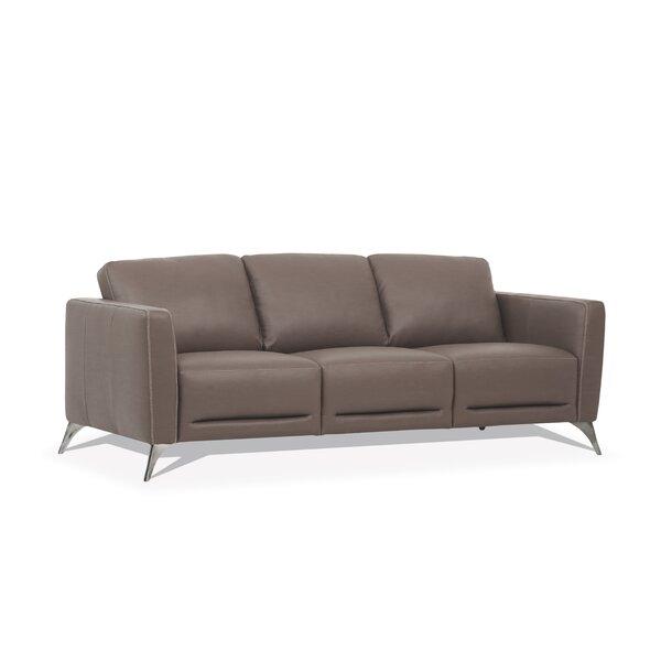 Compare Price Akinruntan Leather Sofa