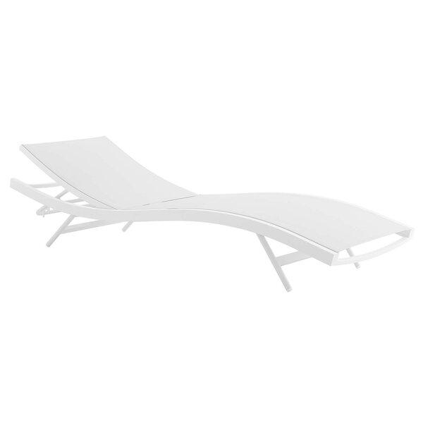 Chipman Outdoor Reclining Chaise Lounge by Orren Ellis Orren Ellis