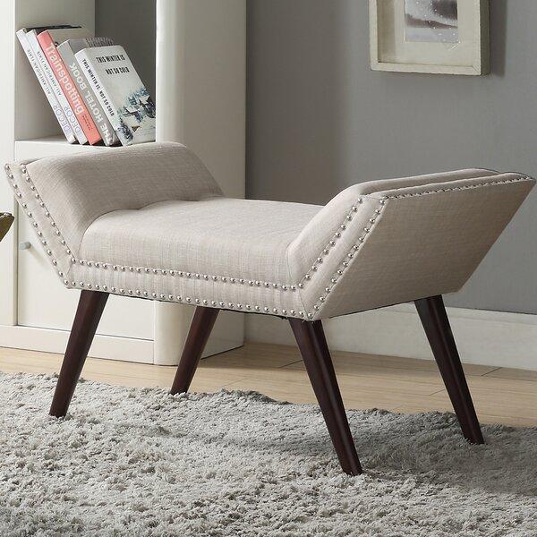Sharonville Upholstered Bench by Alcott Hill