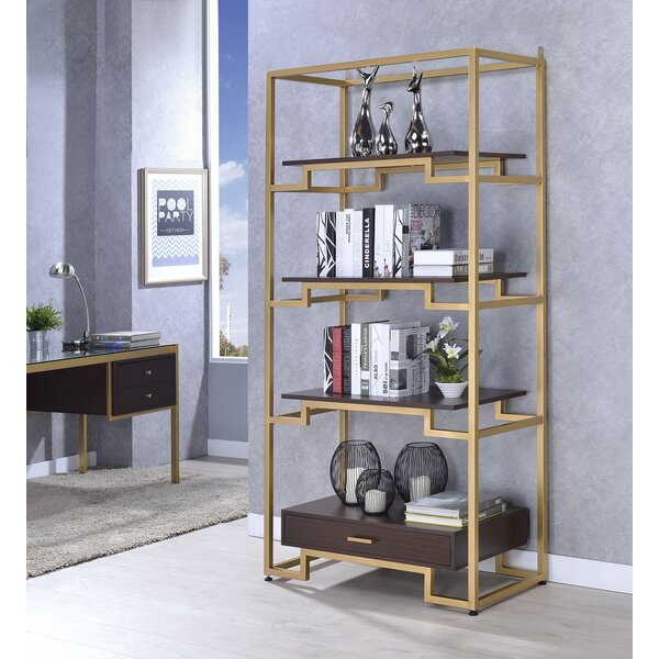 Danyel Etagere Bookcase by Everly Quinn