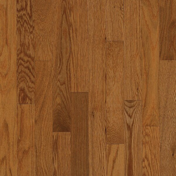 Waltham 2-1/4 Solid Oak Hardwood Flooring in Gunstock by Bruce Flooring