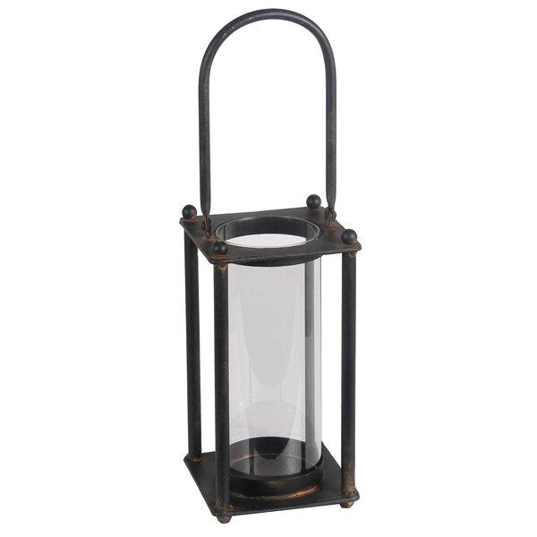 Cylinder Iron Lantern by Williston Forge