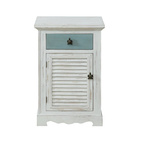 Frisby 1 Drawer Accent Cabinet by Highland Dunes