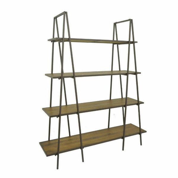 Brumley Metal Wood Ladder Bookcase by Brayden Studio