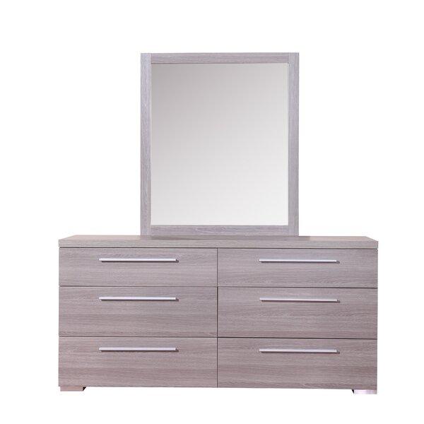 Kempst 6 Drawer Double Dresser by Orren Ellis