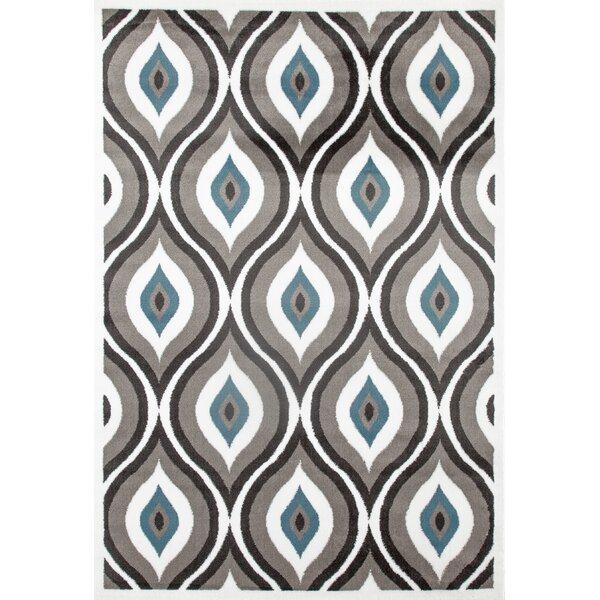 Penny Gray/Blue Area Rug by Zipcode Design