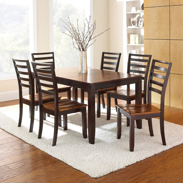 New Hidalgo 7 Piece Extendable Solid Wood Dining Set By Millwood Pines 2019 Online