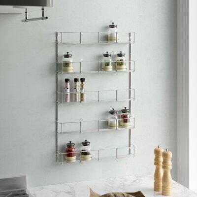 Eingebautes Gewürzregal | Küche und Esszimmer > Küchenregale > Gewürzregale | Wayfair Basics