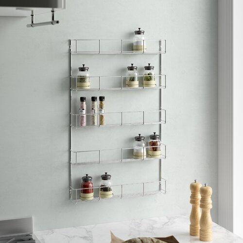 Eingebautes Gewürzregal Wayfair Basics | Küche und Esszimmer > Küchenregale > Gewürzregale | Wayfair Basics