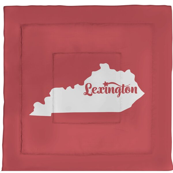 Lexington Kentucky Single Reversible Comforter