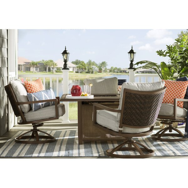 Barrand 5 Piece Dining Set with Cushions by Laurel Foundry Modern Farmhouse