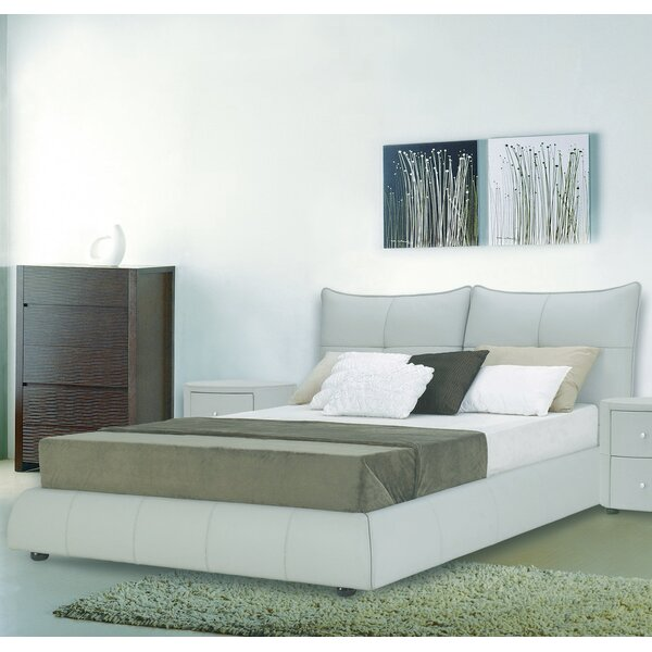 Excite Upholstered Platform Bed by Hokku Designs