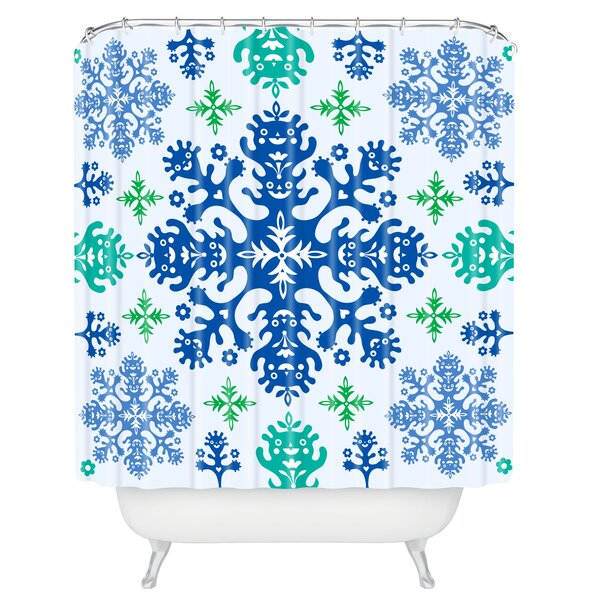 Andi Bird Monstrous Shower Curtain by Deny Designs