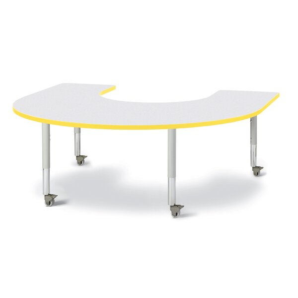 Berries® 66 x 60 Horseshoe Activity Table by Jonti-Craft