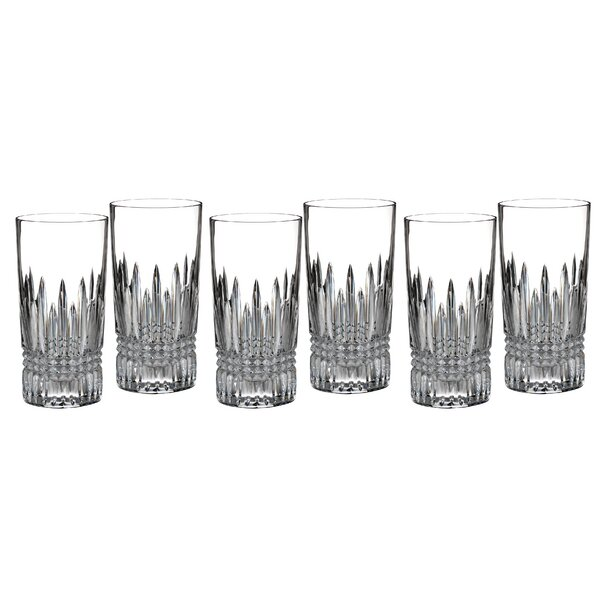 Lismore 12 oz. Crystal Highball Glass (Set of 6) by Waterford