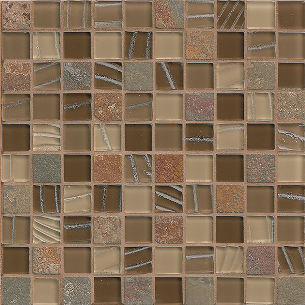 Queenstown 12 x 12 Stone Mosaic Tile in Hawke by Grayson Martin