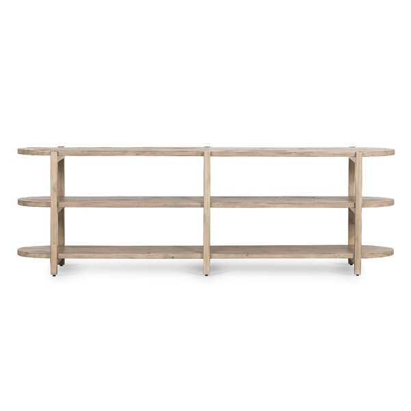 Mischa Solid Wood TV Stand For TVs Up To 85