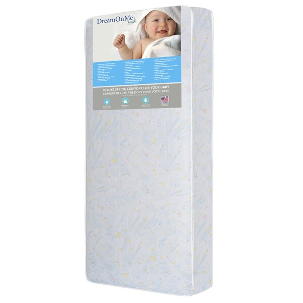 Star Bright 6 Crib and Toddler Bed Mattress by Dream On Me