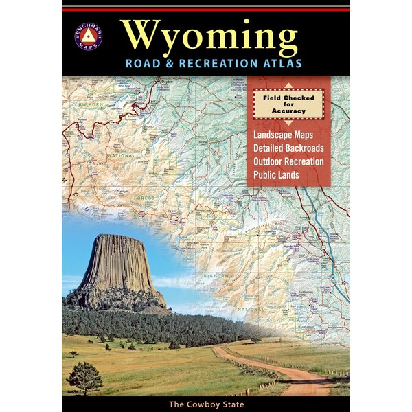 Benchmark Wyoming Road & Recreation Atlas, 1st Edition by National Geographic Maps