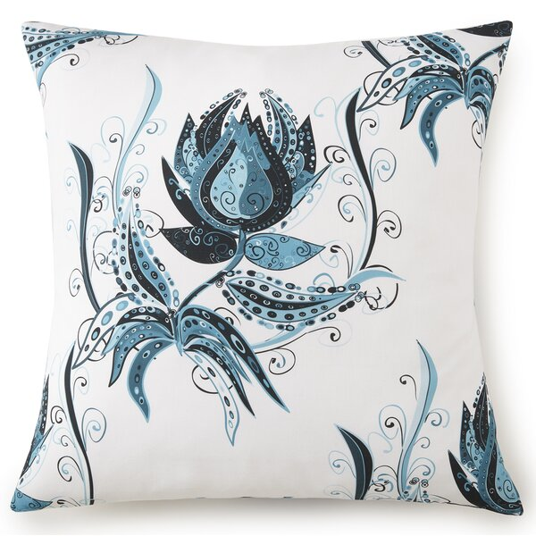 Jerin Cotton Pillow Cover by Bayou Breeze