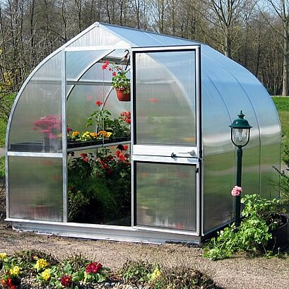 Riga III 7.67 Ft. W x 10.5 Ft. D Commercial Greenhouse by Hoklartherm