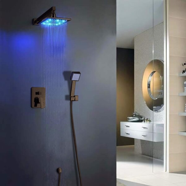 Thermostatic Complete Shower System with Rough-in Valve by FontanaShowers FontanaShowers