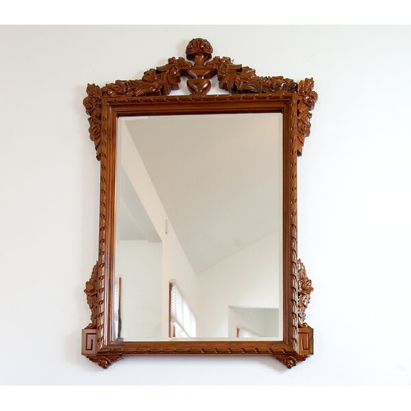 Regal French Style Accent Mirror by The Silver Teak