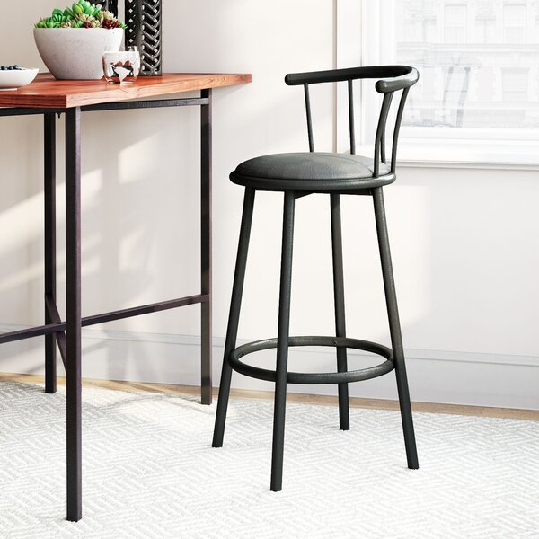 Cantara 29 Swivel Bar Stool (Set of 2) by Latitude Run