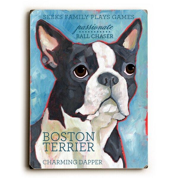 Boston Terrier Vintage Advertisement by Artehouse LLC