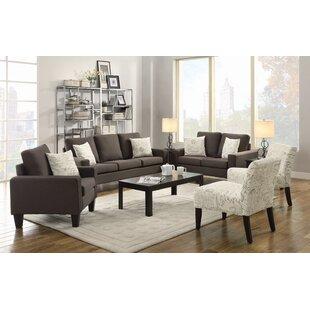 Bachman 3 Piece Configurable Living Room Set by Latitude Run®