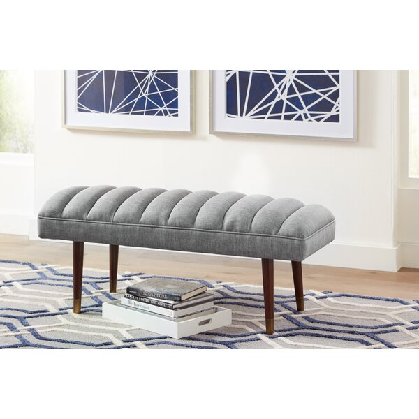 Donohue Upholstered Bench by George Oliver
