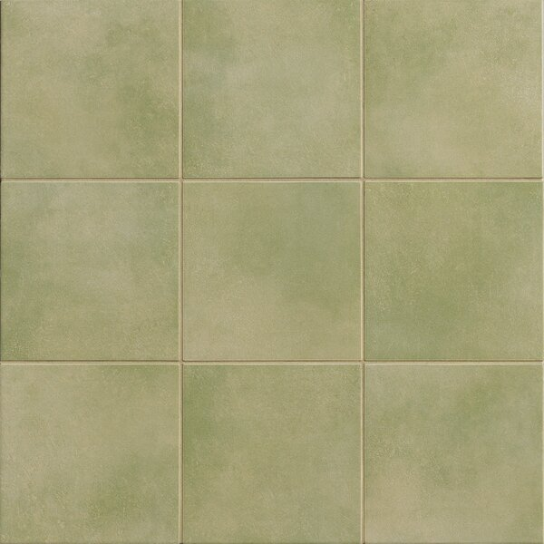 Poetic License 6 x 6 Porcelain Field Tile in Grass by PIXL
