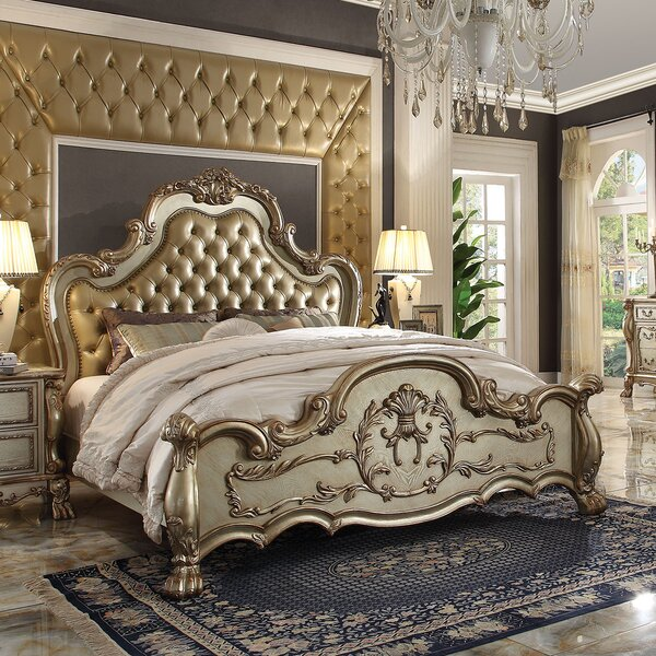 Perales Upholstered Standard Bed by Astoria Grand