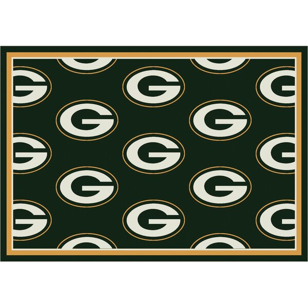 NFL Team Repeat Football Indoor/Outdoor Area Rug by My Team by Milliken