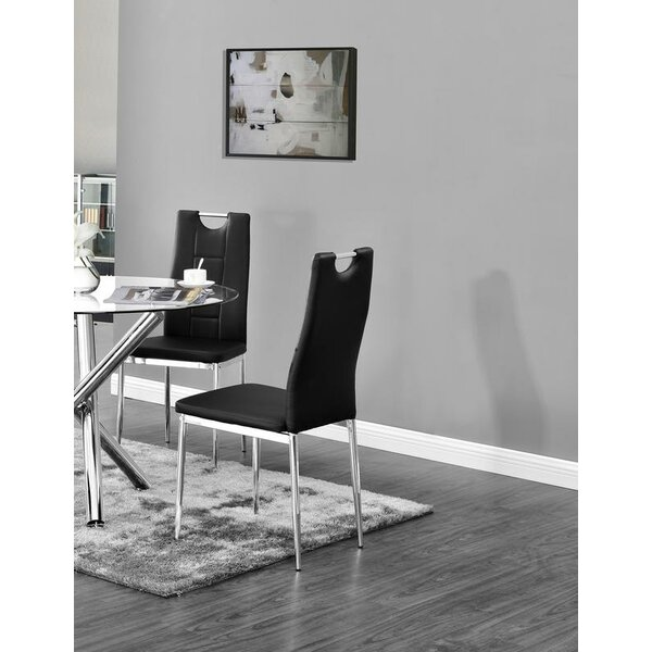 Spickard Upholstered Dining Chair (Set of 2) by Orren Ellis