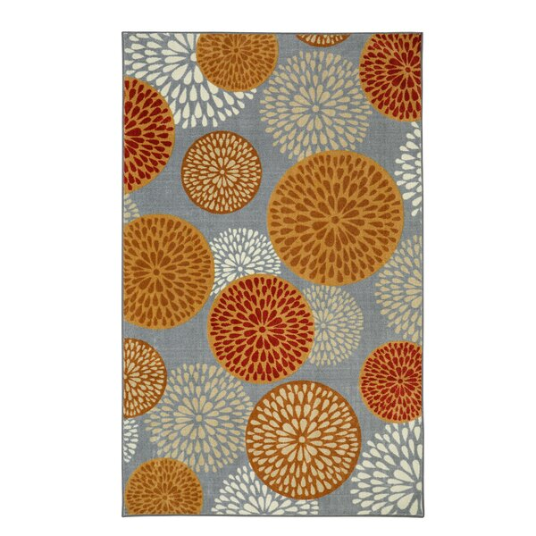 Goose Point Taupe Area Rug by Latitude Run