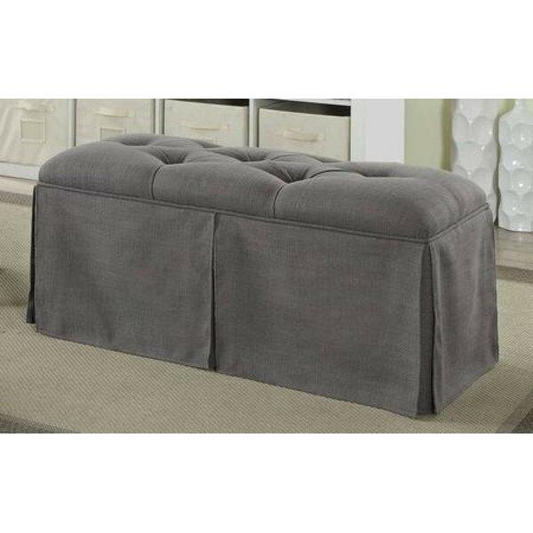 Cripe Upholstered Shelves Storage Bench by Highland Dunes Highland Dunes
