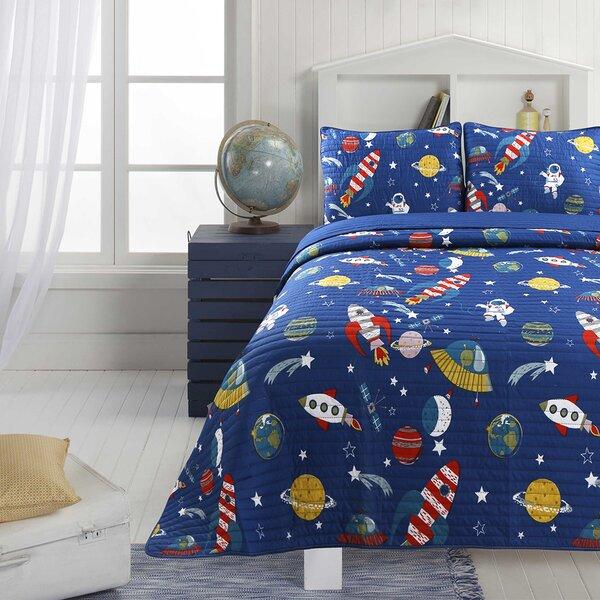 Jablonski Little Martian Quilt Set by Zoomie Kids