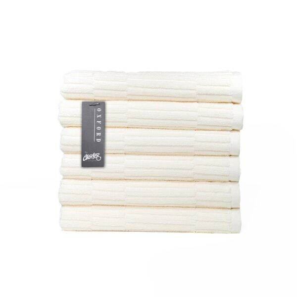Oxford Turkish Cotton Hand Towel (Set of 6) by Chortex